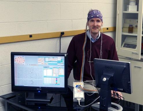My brain being analyzed by the machine that replaced my brain!